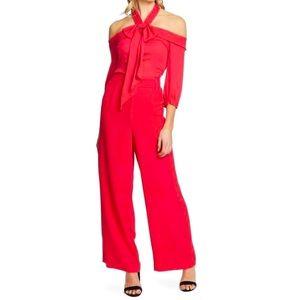 NWT Hot Pink CeCe Jumpsuit
